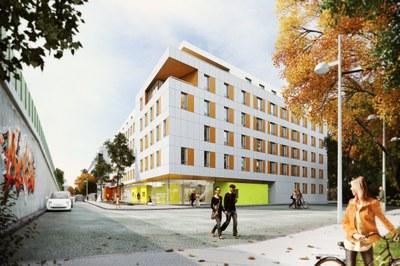 Studierendenheim Elisabeth-Bergner-Weg